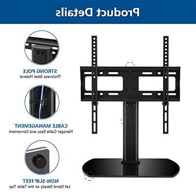 Universal Top Height Adjustable Stand Mount TV