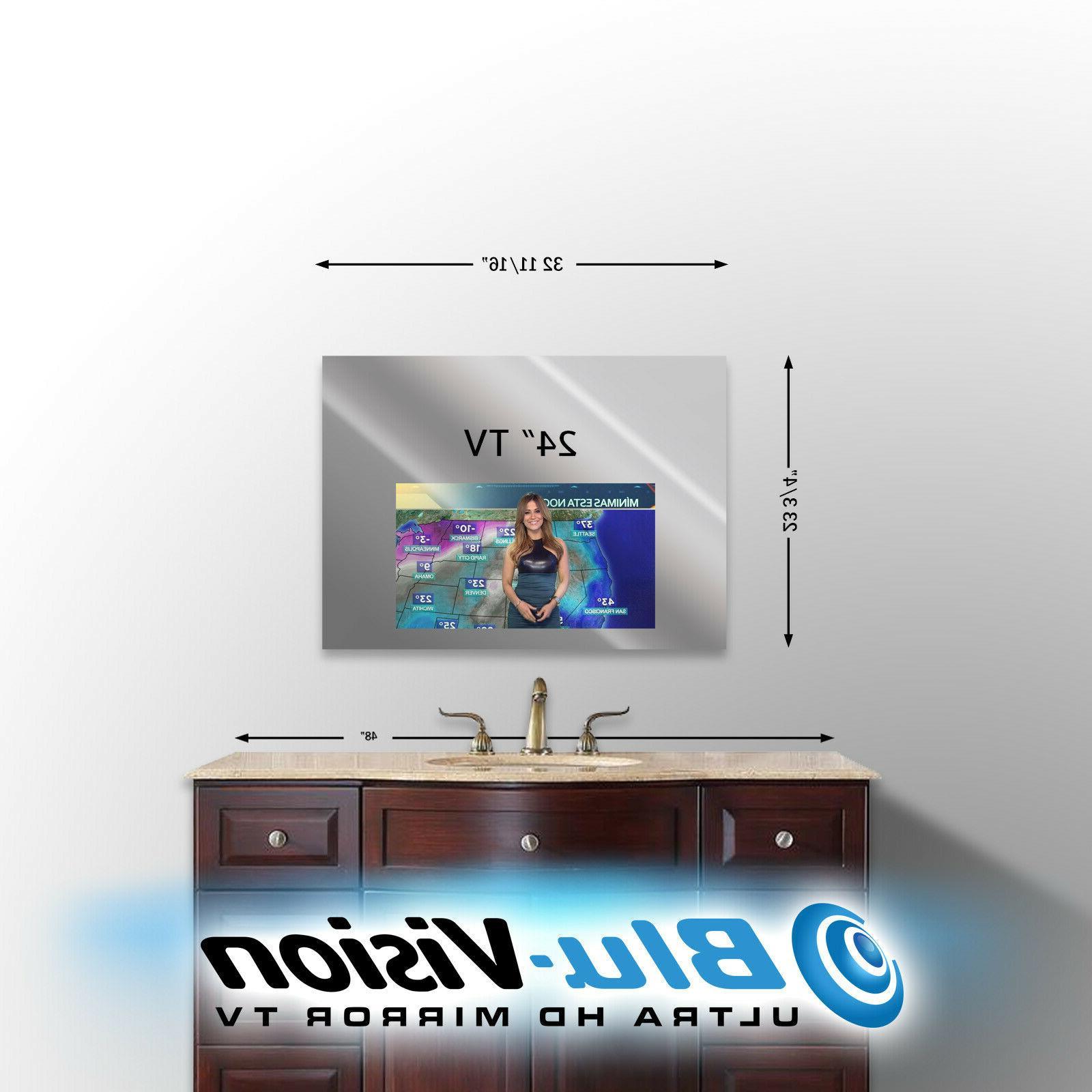 vanity mirror tv 24 class led smart
