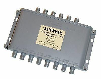 wb68 zinwell 6x8 multiswitch designed for directv