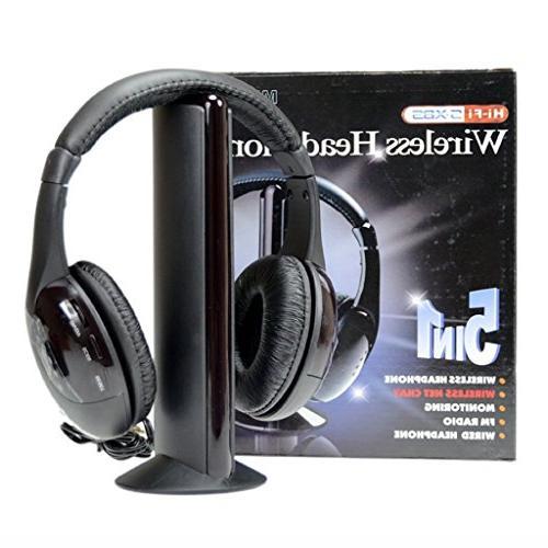 wireless headphones cordless rf 1
