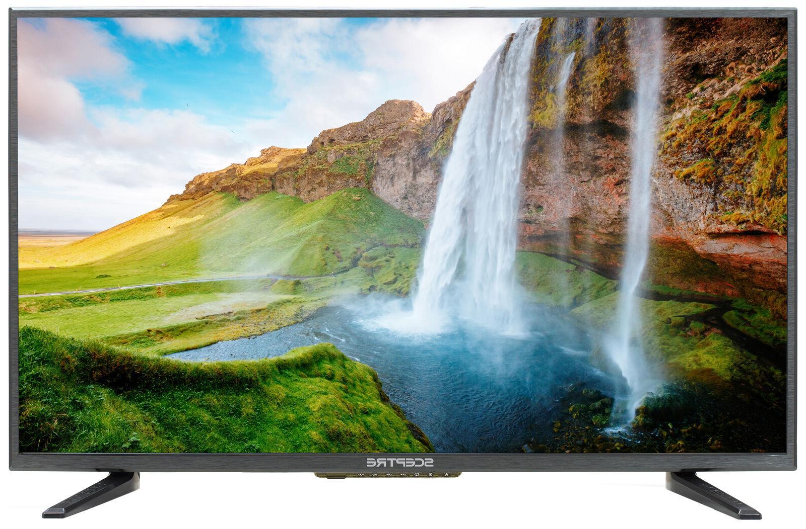 "New Sceptre 32"" Class HD 720P LED TV Flat Screen HDMI USB Ho"