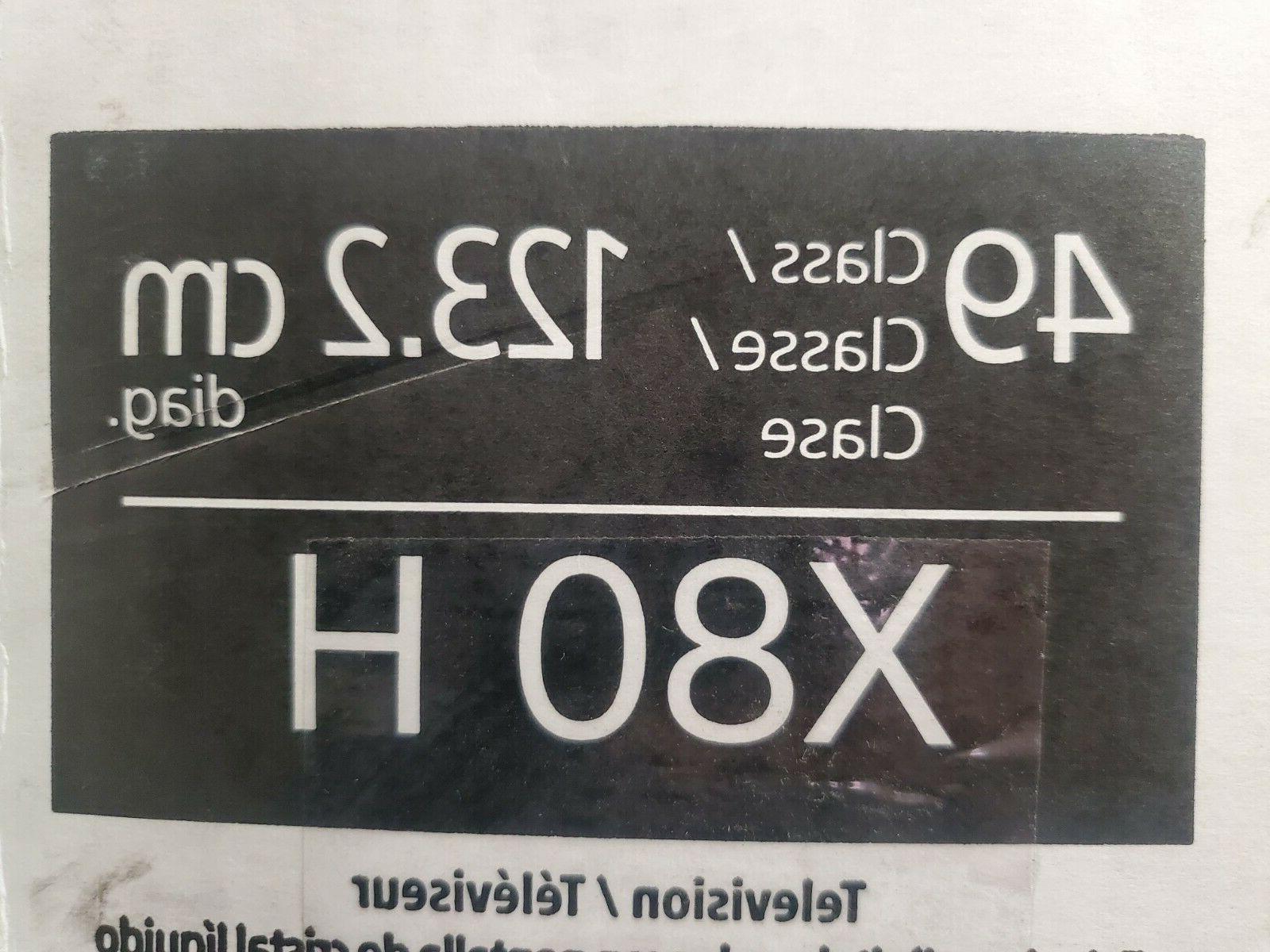 x800h series 49 4k ultra hd hdr