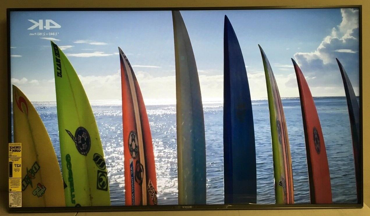 """Sony XBR49X900F 49"""" LED LCD 4K TV HDR10 w/ Android"""