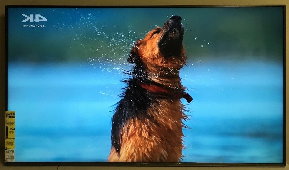 """Sony 49"""" LCD 4K HDR10 w/"""