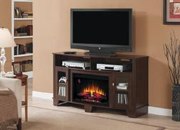 ClassicFlame LaSalle Electric Fireplace Media Console in Mid