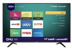 """LED Roku Smart TV Hisense 58"""" inch 4K Ultra HD Home Entertai"""