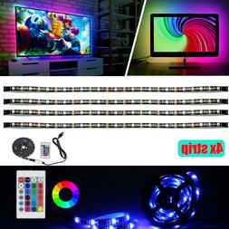 LED TV Backlight - Powered By USB LED Strip Lights for 32 to