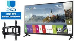 LG Electronics 43LJ5500 43-Inch 1080p Smart LED TV w/ED Bund