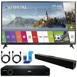 LG 55UJ6300 55-inch 4K Ultra HD Smart LED TV  + HDMI 1080p H