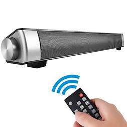 EWEMOSI Sound Bar Bluetooth 4.0 Speaker 2.0 Channel Multimed