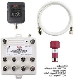 PCT PCT-MA2-8PN 8-Port Bi-Directional Cable TV, OTA, Satelli
