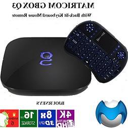 Matricom G-Box Q3 Quad/Octo Core Android TV Box  Ready To Wa