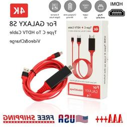 MHL USB Type C to HDMI 1080P HD TV Cable Adapter For Android
