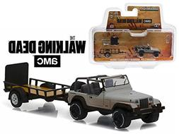 """Michonne's Jeep Wrangler YJ and Utility Trailer """"The Walking"""