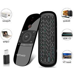 Universal Remote for Android tv Box, Wireless Keyboard 2.4G