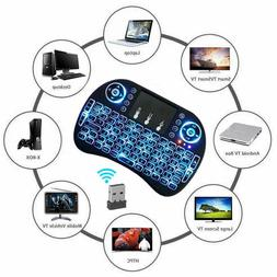 Black Wireless Mini Ultra Slim Keyboard and Mouse For Easy Smart ...
