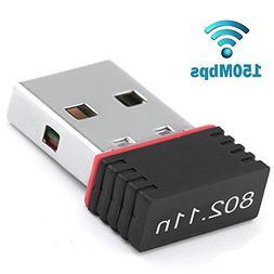 LtrottedJ Mini USB 2.0 802.11n 150Mbps Wifi Network Adapter