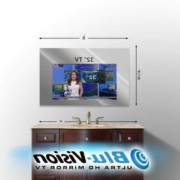 """MIRROR TV SAMSUNG 32"""" SMART 1080p  HDTV SIZE: 39"""" W X 24"""