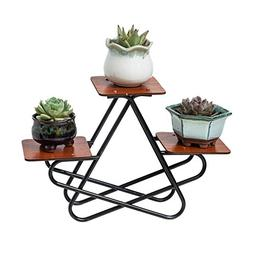 Flower Stand Multi-Layer Wrought Iron Multifunctional Indoor