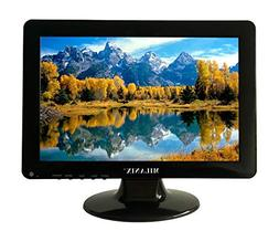 Milanix 12 Inch LED Widescreen HDTV with HDMI, VGA, Built in