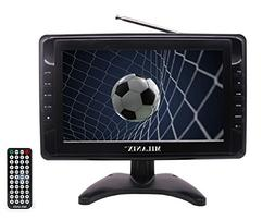 "Milanix MX9 9"" Portable Widescreen LCD TV with Detachable An"