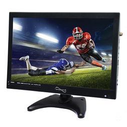 "SuperSonic 14"" Portable LED TV, W/ USB, SD, HDMI / AC/DC/ Re"