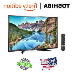 "NEW Toshiba 32"" HD 720p Smart LED TV HD- Fire TV Edition w 3"