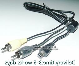 New Micro USB to 2 RCA Male AV A/V TV Audio Video Cable Came