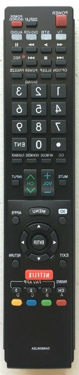 NEW USBRMT Remote Control GA890WJSA for SHARP AQUOS TV GB004