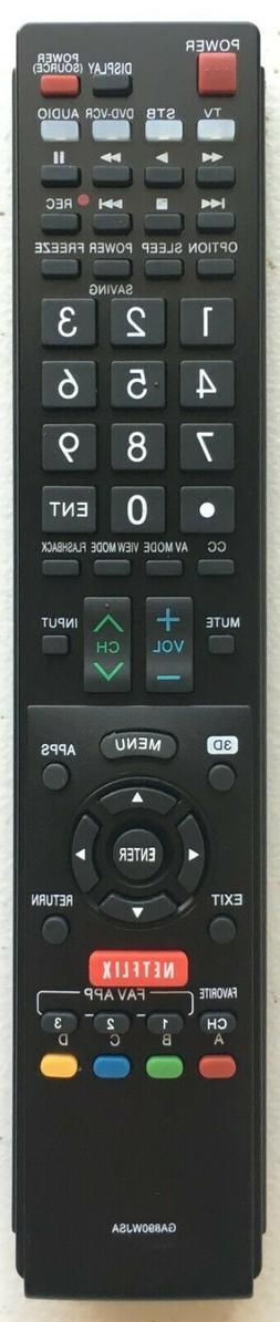 NEW USBRMT Remote GB118WJSA for SHARP AQUOS TV GB005WJSA GA8