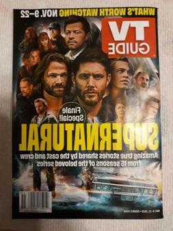 TV Guide   Supernatural Finale - Jensen Ackles Jared Padalec