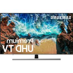 "Samsung UN49NU8000FXZA Flat 49"" 4K UHD 8 Series Smart LED TV"