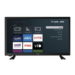 "onn. 24"" Inch Class 720P HD LED Roku Smart TV WiFI Streaming"