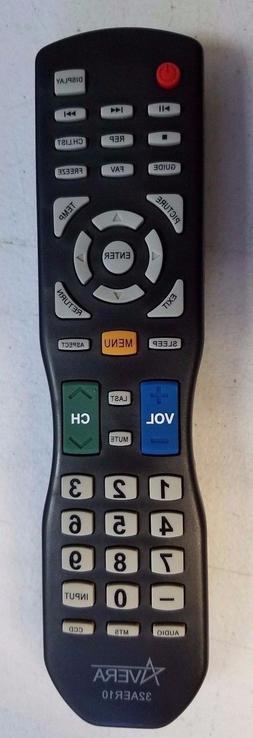 Original NEW Avera 40AER10 TV Remote Control