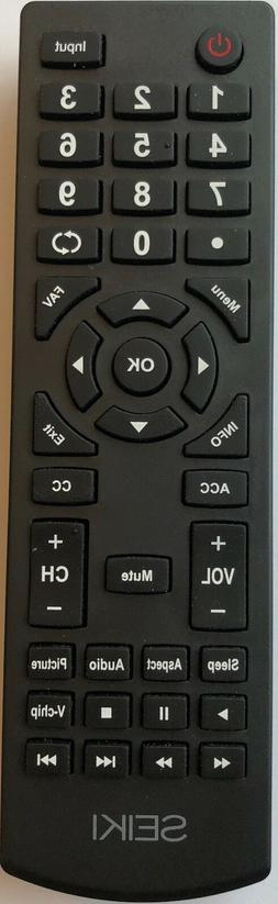 Original New Seiki TV Remote for Seiki SC-32HS703N LED TV
