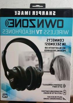 Sharper Image Ownzone Wireless TV Headphones As seen on tv 1