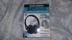 Sharper Image Ownzone Wireless TV Headphones WN011112  Conne