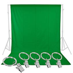 Neewer Photo Studio 6 x 9FT/1.8x2.8M Pure Muslin Collapsible