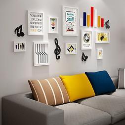 Photo Wall, Music Element Photo Wall, Big Wall Frame Wall, C