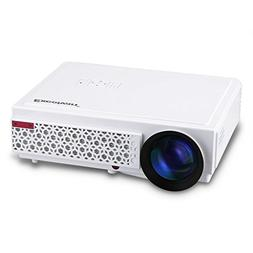 Excelvan 3000 Lumens Portable Multimedia Home Cinema Theater