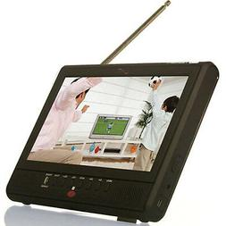 """Supersonic  SC195D Portable LCD TV with 7"""" Screen and Built-"""