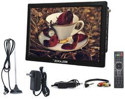 "Portable TV Rechargeable 14"" LED Digital Television HDMI VGA"