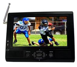 "Supersonic 7"" Portable LCD TV with ATSC Digital Tuner, AC/DC"