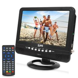 9 Inch Portable Widescreen TV - Smart Rechargeable Battery W