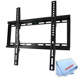 "Low Profile Flat Screen TV Wall Mount for 23""-56"" TVs + Tron"