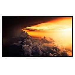 Projector Screen, 100 Inch Indoor Outdoor Projection Movie S