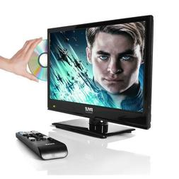 """Pyle PTVDLED16 15.6"""" LED TV - HD Flat Screen TV with Built-i"""