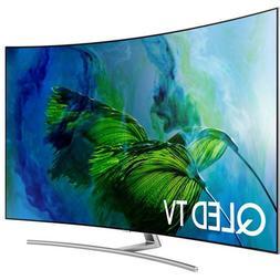 NEW Samsung QN75Q8CAMFXZA 75in Class Q8C Curved QLED 4K TV 7
