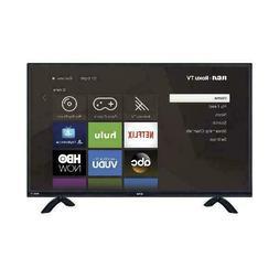 "RCA RTRU5527-W 55"" Class 4K Ultra HD HDR Roku Smart LED TV"