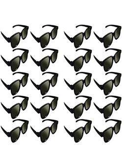 Lot of 20x RealD Technology 3D Polarized Glasses for TV/Movi